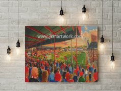 brootham crescent canvas  a2 size